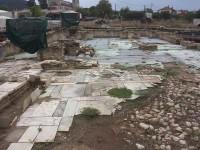 Περιοδεία του βουλευτή  ΚΚΕ Νίκου Μωραΐτη στις αρχαιολογικές ανασκαφικές εργασίες