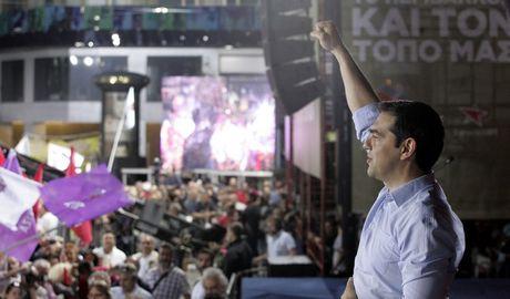 Δημοσκόπηση: Διψήφια η διαφορά ΣΥΡΙΖΑ-ΝΔ