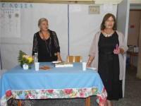 Πραγματοποιήθηκε χθες η ομιλία της καταξιωμένης συγγραφέα κ. Ελένης Πριοβόλου στο Μενίδι