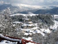 Χιόνισε στα ορεινά της Ηπείρου