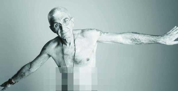 Ο Γιάννης Μπουτάρης προκαλεί ξανά – Ποζάρει γυμνός για το gay pride