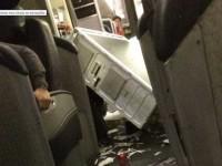 Βίντεο από την πτήση-θρίλερ που βρέθηκε εν μέσω καταιγίδας