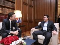 Διάλογος φωτιά. Τσίπρας: Τέσσερα χρόνια εφαρμόζουμε αποτυχημένο πρόγραμμα -Ντάισελμπλουμ: Δεν έχω την ίδια άποψη