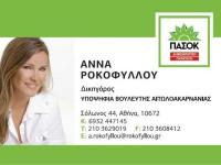 Δήλωση Άννας Ροκοφύλλου για την υποψηφιότητά της με το ΠΑΣΟΚ στην Αιτωλοακαρνανία
