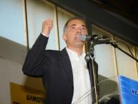 Κεντρική προεκλογική  συγκέντρωση του Μάριου Σαλμά στο Αγρίνιο