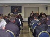 Προεκλογική εκδήλωση της Χρυσής Αυγής στο ξενοδοχείο Ιmperial Hotel στο Αγρίνιο