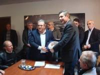 Το Δήμαρχο Αρταίων επισκέφτηκε ο Γενικός Γραμματέας της Κεντρικής Επιτροπής του ΚΚΕ, Δημήτρης Κουτσούμπας.