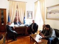 Συνάντηση του Δημάρχου Ι.Π. Μεσολογγίου με τον Δήμαρχο Ανδραβίδας Κυλλήνης
