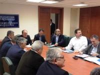 Συνάντηση του Περιφερειάρχη Απ. Κατσιφάρα και φορέων της Δυτικής Ελλάδας με τον Υπουργό Γ. Σταθάκη για την Πατρών – Πύργου