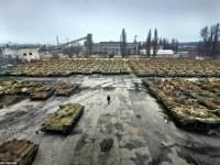Νεκροταφείο τανκς στην Ουκρανία. Μια «σκουριασμένη» απόδειξη της εξάρτησης από την Ρωσία