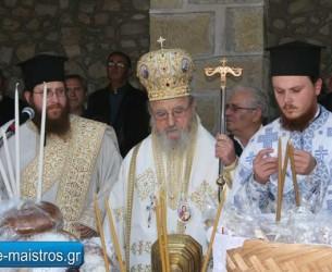 Με λαμπρότητα εορτάστηκε ο Άγιος Θωμάς Εμπεσού
