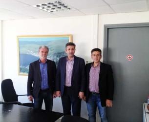 Επίσκεψη του Δημάρχου Αρταίων Χρ. Τσιρογιάννη σήμερα στο Δημαρχείο Αμφιλοχίας