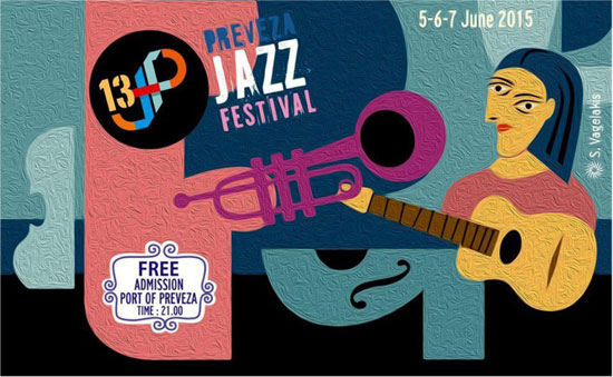 13th PREVEZA JAZZ FESTIVAL 5, 6 και 7 Ιουνίου