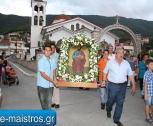 Με επισημότητα ο εορτασμός του πολιούχου του δημοτικού διαμερίσματος Μενιδίου Απόστολου Παύλου