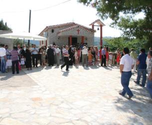 Εορτασμός Πέτρου και Παύλου στο ομώνυμο εκκλησάκι στον οικισμό Καινούργιο Αμπελακίου
