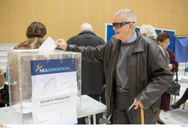 Αποτελέσματα εκλογών για αρχηγό στη ΝΔ στο Δήμο Αμφιλοχίας