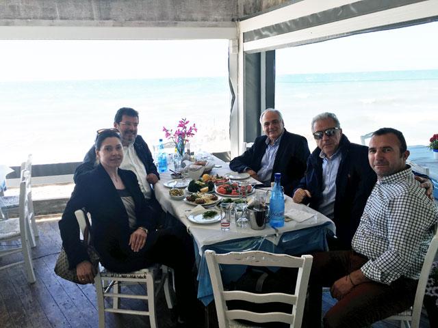 Συνάντηση Δημήτρη Αβραμόπουλου με το Δήμαρχο Αμφιλοχίας Απόστολο Κοιμήση
