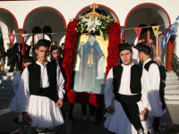 Με λαμπρότητα τελέστηκε ο εορτασμός του Αγίου Ανδρέα του Ερημίτη στο Χαλκιόπουλο