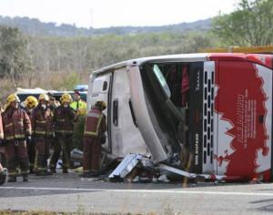 Πολύνεκρο δυστύχημα με τουριστικό λεωφορείο που επέστρεφε από Κέρκυρα