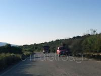 Φωτιά στο 17ο χλμ Αμφιλοχίας Αντιρρίου στον Άγιο Στέφανο