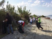 «Δράσεις καθαρισμού στο Εθνικό Πάρκο Υγροτόπων Αμβρακικού»