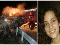 Τραγωδία για  24χρονη κοπέλα που κάηκε ζωντανή σε τροχαίο στην Εθνική Οδό!