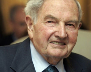 Πέθανε σε ηλικία 101 ετών ο δισεκατομμυριούχος Ντέιβιντ Ροκφέλερ