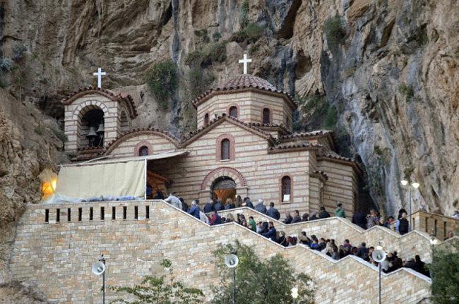 Κλειστό το Ιερό Προσκύνημα Παναγίας Ελεούσης Αιτωλίας
