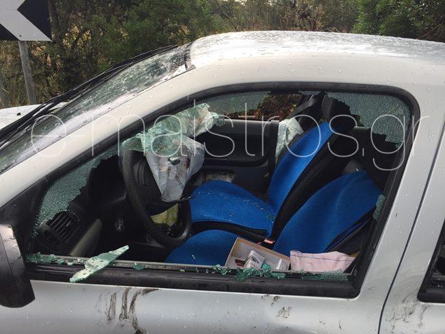 Τροχαία ατυχήματα Αμφιλοχία – Βόνιτσα – Πλαγιομετωπική ΙΧΕ στο οποίο επέβαιναν παιδιά