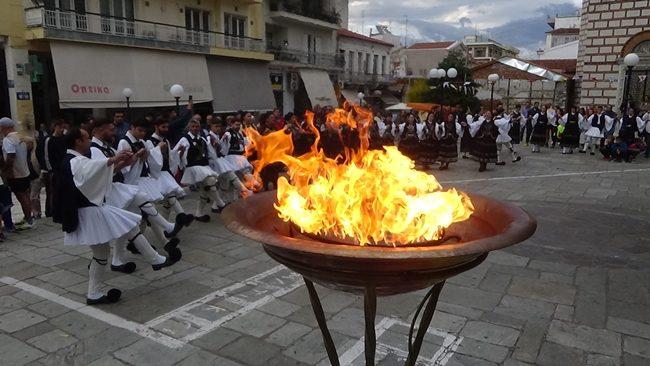Τη φλόγα των 23ων χειμερινών Oλυμπιακών Αγώνων υποδέχθηκε η Άρτα