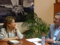 Επίσκεψη της αναπλ. Υπουργού Εργασίας Ράνιας Αντωνοπούλου στο Δημαρχείο Άρτας