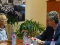 Συνάντηση Τσιρογιάννη με τον Γ.Γ. Υπουργείου Αγροτικής Ανάπτυξης
