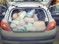 Κατασχέθηκαν τα 2 Αυτοκίνηττα και τα 163 κιλά κάνναβης