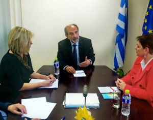 Συνεργασία της Περιφέρειας Δυτ. Ελλάδας με τη Γαλλική Πρεσβεία