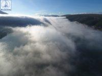 Μοναδικές εικόνες από την πρωινή ομίχλη που ξεκίνησε από Μεσολόγγι και κατέληξε στον Αμβρακικό