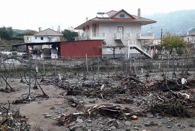 Καταγραφή ζημιών στο Δήμο Αμφιλοχίας