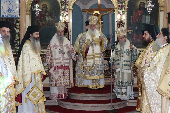 Γενέθλια του πολιούχου υπό τη ποιμαντορία του Μακαριωτάτου Αρχιεπισκόπου Ιερώνυμου
