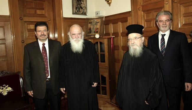 Επίσκεψη Μακαριωτάτου Αρχιεπισκόπου Αθηνών και πάσης Ελλάδος κ.κ. Ιερώνυμου στην Αμφιλοχία