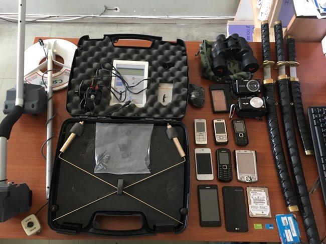 Εξαρθρώθηκαν δυο εγκληματικές οργανώσεις για διακίνηση ποσοτήτων κοκαΐνης και ανασκαφών  προς ανεύρεση αρχαιοτήτων