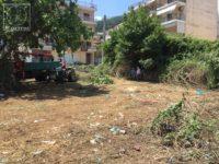 Με παρέμβαση εισαγγελέα καθαρίστηκε οικόπεδο στο κέντρο της Αμφιλοχίας