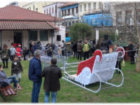 Πλημμύρισε χριστουγεννιάτικες μελωδίες και κάλαντα το κέντρο της Αμφιλοχίας