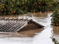 Πλημμύρισε ο κάμπος στην Ηλεία –  Εκκενώθηκαν σπίτια