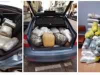 Συνελήφθη  22χρονος έμπορος ναρκωτικών, μετέφερε με Ι.Χ.Ε. αυτοκίνητο μεγάλη ποσότητα κάνναβης