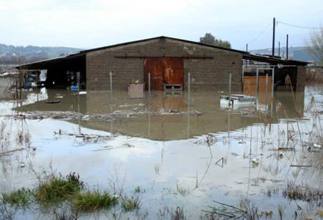 Σε κατάσταση έκτακτης ανάγκης 54 περιοχές στη Δυτική Ελλάδα