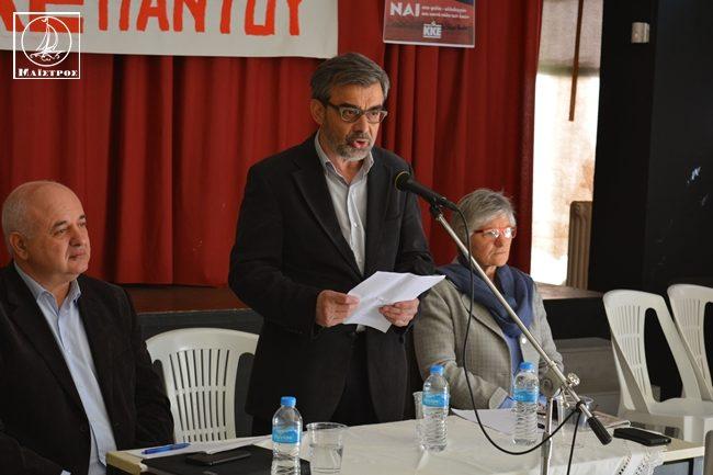 Παρουσία του Ν. Καραθανασόπουλου η «Λαϊκή Συσπείρωση» παρουσίασε το ψηφοδέλτιο στο δήμο Αμφιλοχίας