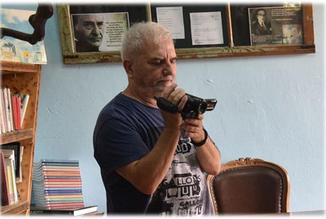 Βιβλιοθήκη Σπάρτου: Συνέντευξη στον Νώντα Σαρλή