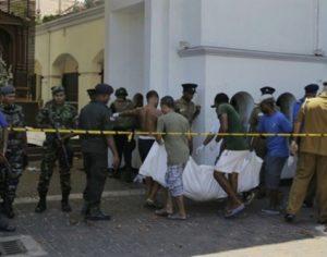 Σρι Λάνκα: Εκατόμβη νεκρών από τις διαδοχικές επιθέσεις σε εκκλησίες και ξενοδοχεία