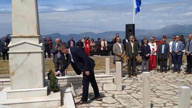 Τιμήθηκαν και φέτος οι Ιστορικές Μάχες του Γριμπόβου