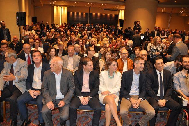 Ομιλία Παπαναστασίου στους ετεροδημότες της Αθήνας