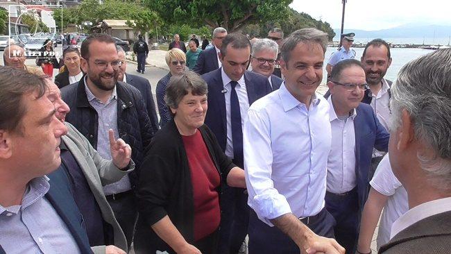 Κυρ. Μητσοτάκης από το Μενίδι Αμφιλοχίας «Θα μειώσουμε τους φόρους για όλους τους Έλληνες»